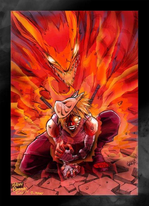 Naruto Kyuubi No Yoko by vashperado